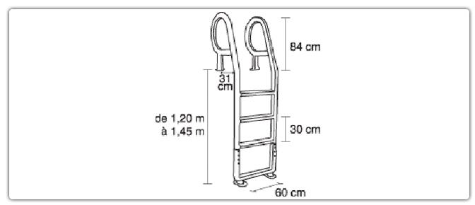 chelle deck pour piscine profondeur m 23918. Black Bedroom Furniture Sets. Home Design Ideas